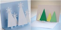 Dành cả tấm lòng vào thiệp 3D tặng người yêu mùa Giáng sinh