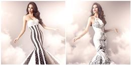 Ngất ngây váy dạ hội chính thức cực lộng lẫy của Phạm Hương