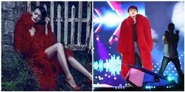 Sơn Tùng mặc áo khoác của nữ giới trên sân khấu liveshow