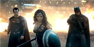 Woman  chào sân  ấn tượng trong trailer mới của  Batman vs Superman