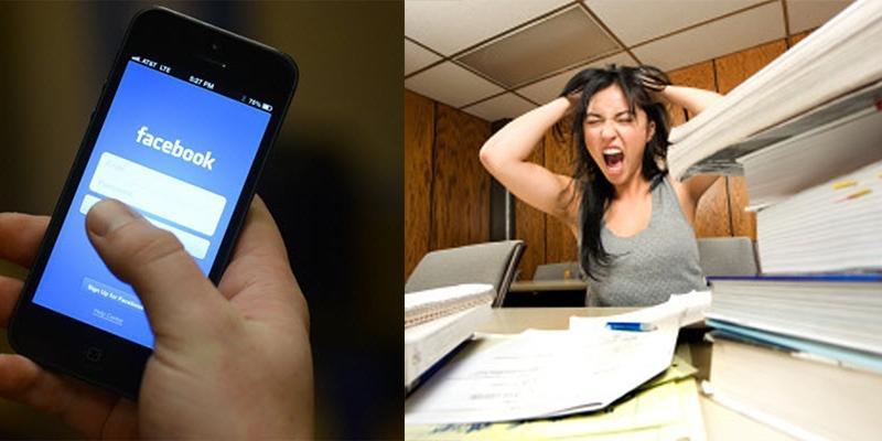 Thói quen lướt Facebook khiến giới trẻ khó ngủ, học kém