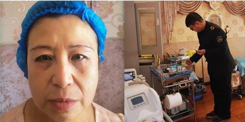 Người phụ nữ trẻ bỗng biến thành bà lão vì phẫu thuật thẩm mĩ