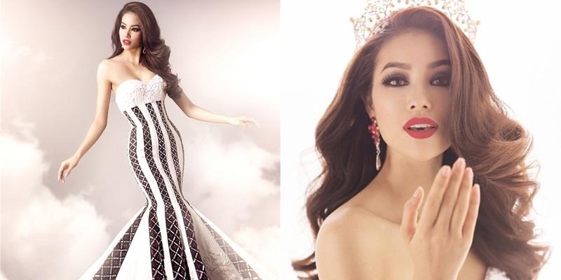 Phải chăng Phạm Hương đang bị 'chơi xấu' ở Hoa hậu Hoàn vũ 2015?