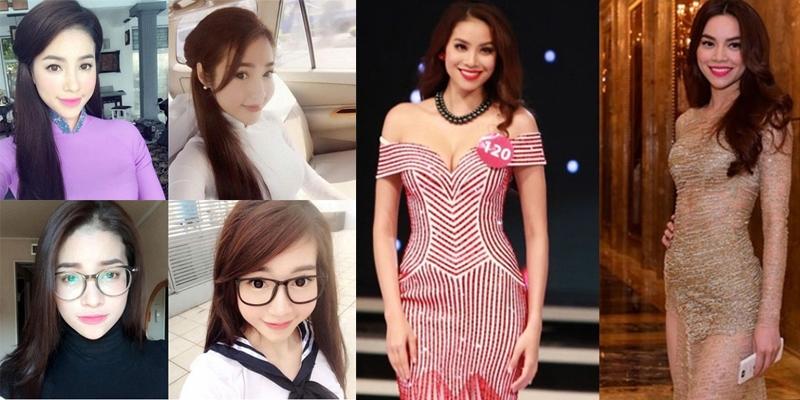 Những góc ảnh giống hệt chị em của các mĩ nhân Việt