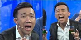 Trấn Thành bị Việt Hương  lừa  đến  méo mặt  trên sóng truyền hình