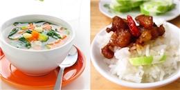 Nên ăn canh trước hay ăn cơm trước?