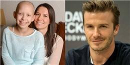 'Tan chảy' trước hành động đẹp của Beckham gửi cô bé ung thư
