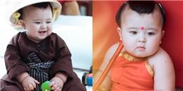 Phát sốt với vẻ đáng yêu của nhóc tỳ lai trong tạo hình Tam thái tử Na Tra