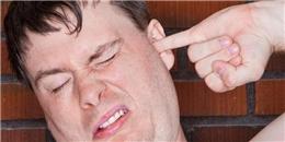 Hậu quả khôn lường khi đưa ngón tay vào lỗ tai