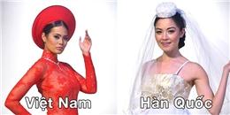 Những bộ váy cưới dân tộc tuyệt đẹp vòng quanh châu Á