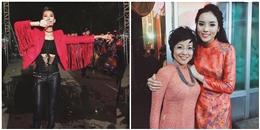 Muôn màu thời trang đón năm mới của sao Việt