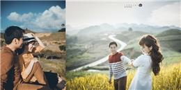 Bộ ảnh cưới đẹp như mơ ở Mộc Châu của cặp đôi 'oan gia'