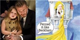 Beckham sẽ 'nhốt' Harper Seven như Rapunzel khi cô bé đến tuổi hẹn hò