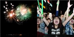Người dân cả nước hân hoan đón năm mới