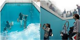 Có gì trong bể bơi ảo giác Nhật Bản và ngôi nhà kỳ quái ở Anh?