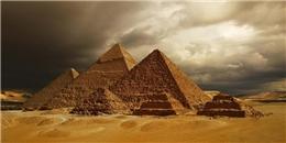 Khám phá phương pháp xây dựng Kim tự tháp của người Ai Cập