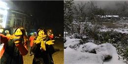 Cận cảnh tuyết rơi dày đặc tại Sapa