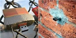 Bí mật đằng sau những chiếc USB giấu trong các bức tường khắp thế giới