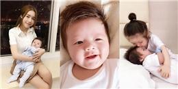 Bất ngờ vì Elly Trần đã lên kế hoạch sinh con 2 năm liền