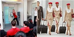 """Lộ bí mật """"khó tin"""" bên trong """"lò"""" đào tạo nữ tiếp viên hàng không"""