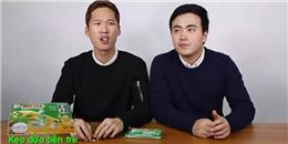 Cười thả ga xem người Hàn thử ăn quà vặt Việt Nam