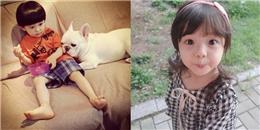 'Tròn mắt' với vẻ đáng yêu của các em bé gây chú ý nhất mạng xã hội