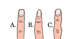 Đoán tính cách qua hình dáng và chiều dài ngón tay