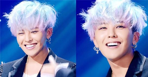 Nụ cười 'không thể cưỡng lại được' của G-Dragon khiến fan điêu đứng