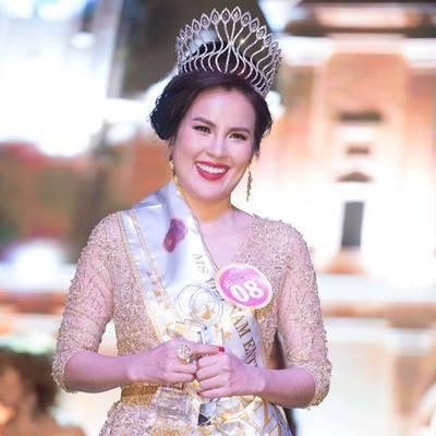 Vẻ đẹp đằm thắm của á hậu doanh nhân người Việt Phương Lê