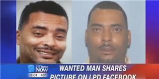 Tội phạm bị truy nã yêu cầu cảnh sát thay hình khác... đẹp trai hơn