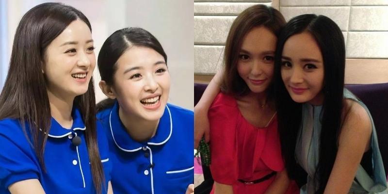 """Những đôi bạn thân """"vững như keo"""" nổi tiếng của làng giải trí Hoa ngữ"""