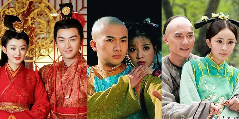 """5 cặp đôi màn ảnh đẹp như mơ nhưng """"không phận"""" của Hoa ngữ"""
