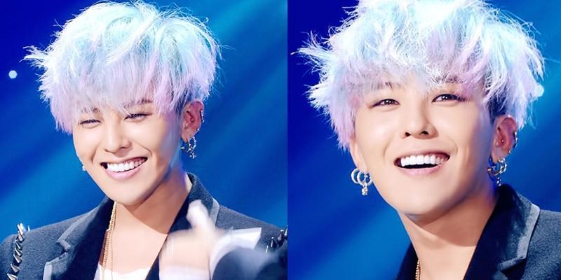 Nụ cười  không thể cưỡng lại được  của G-Dragon khiến fan điêu đứng