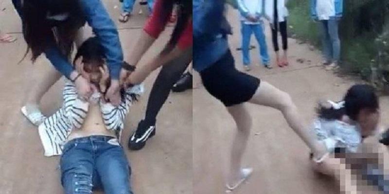 Nữ sinh bị đánh hội đồng, bạn học thờ ơ đứng quay clip