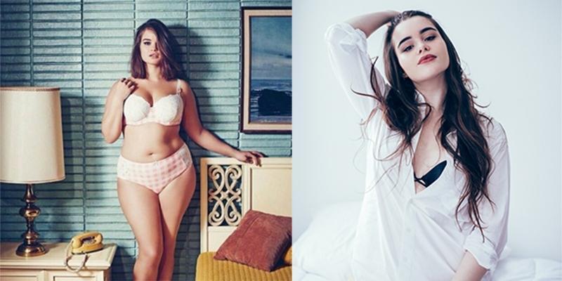"""Phá vỡ quy chuẩn, nàng béo trở thành người mẫu nội y cực """"nóng"""""""