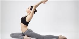 Hai bài tập yoga đơn giản giúp bụng phẳng eo thon