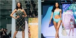 Mặc bikini, Hoàng Thùy tự tin sải bước trên sàn diễn Luân Đôn