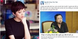 Sao Việt bàng hoàng trước sự ra đi của nhạc sĩ Lương Minh