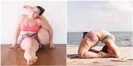 Tràn đầy cảm hứng sống khỏe với nàng huấn luyện viên yoga ngoại cỡ