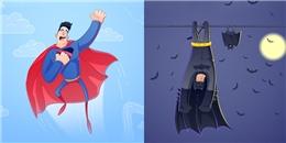 'Bật ngửa' với dáng ngủ bá đạo của các siêu anh hùng