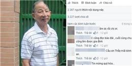 Nức lòng khi tìm được thầy giáo mất trí nhớ đi lạc nhờ mạng xã hội