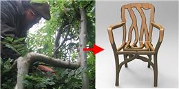 """Khám phá khu vườn 'trồng bàn ghế"""" duy nhất trên thế giới"""