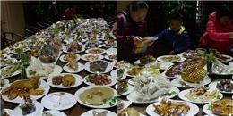 'Há hốc mồm' với bàn tiệc 143 món ăn làm bằng đá quý