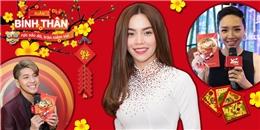 Hồ Ngọc Hà, Noo Phước Thịnh, Tóc Tiên gửi lời chúc Tết đến khán giả