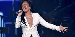Demi Lovato khiến khán giả 'nổi da gà' khi cover lại Hello tại Grammy