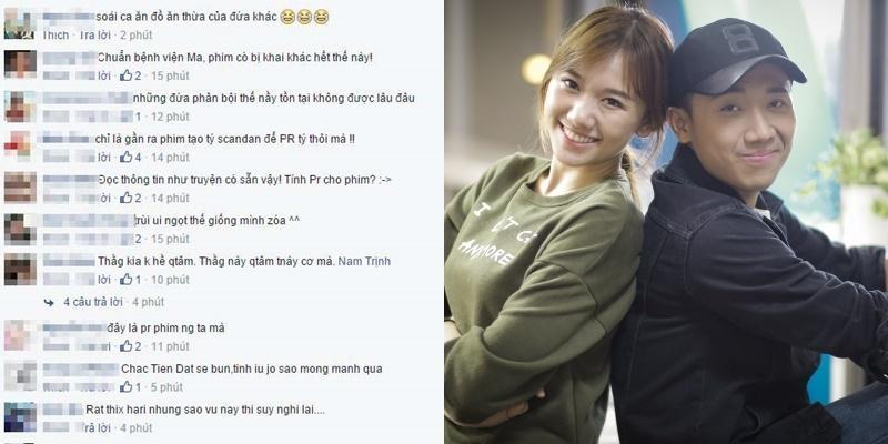 Cư dân mạng  dậy sóng  với chuyện hẹn hò giữa Trấn Thành, Hari Won