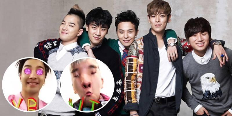 """Big Bang tham gia trào lưu """"mặt biến dạng"""" khiến fan """"rụng tim"""""""