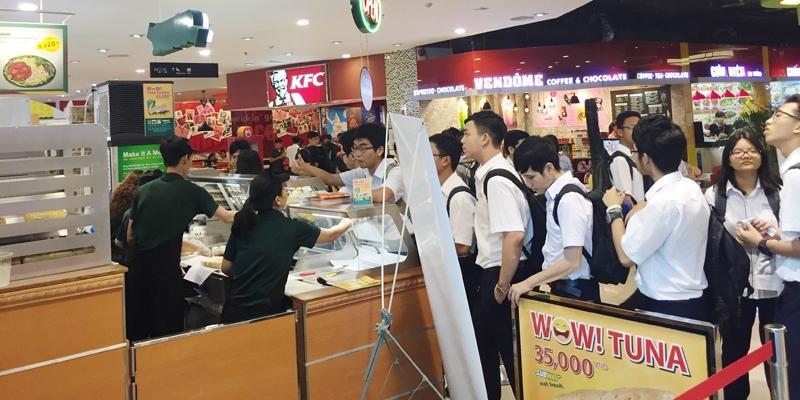 Bánh mì Subway chào đón cửa hàng thứ 6 tại TP. HCM