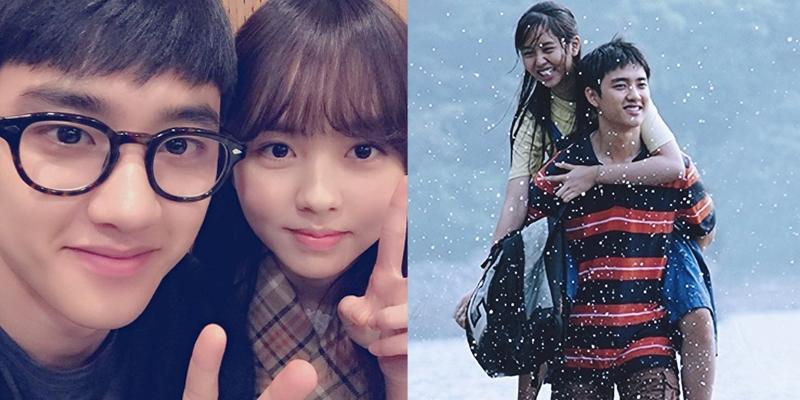 D.O. (EXO) chia sẻ cảm xúc khi cõng Kim So Hyun