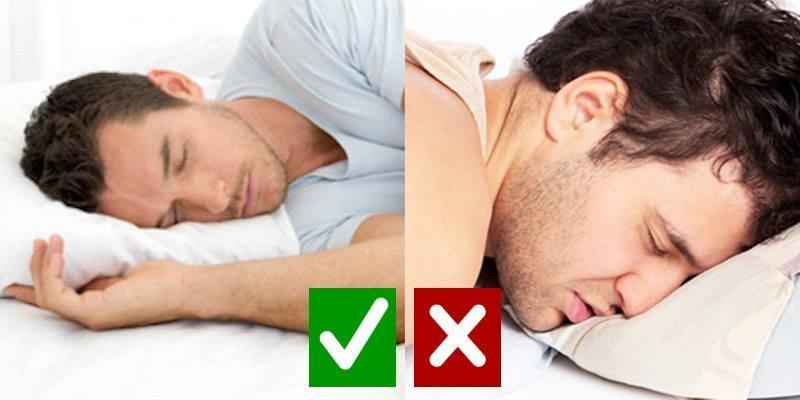 """Những tư thế ngủ trong khi say """"hại người"""" cần tránh"""